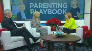 Parenting Playbook: How to handle holiday tantrums (06:56)