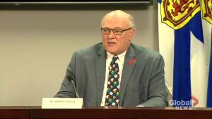 Coronavirus: Nova Scotia to limit number of caregivers for long-term care residents (00:41)