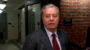 Lindsey Graham says Trump is feeling 'upbeat' about Iran situation