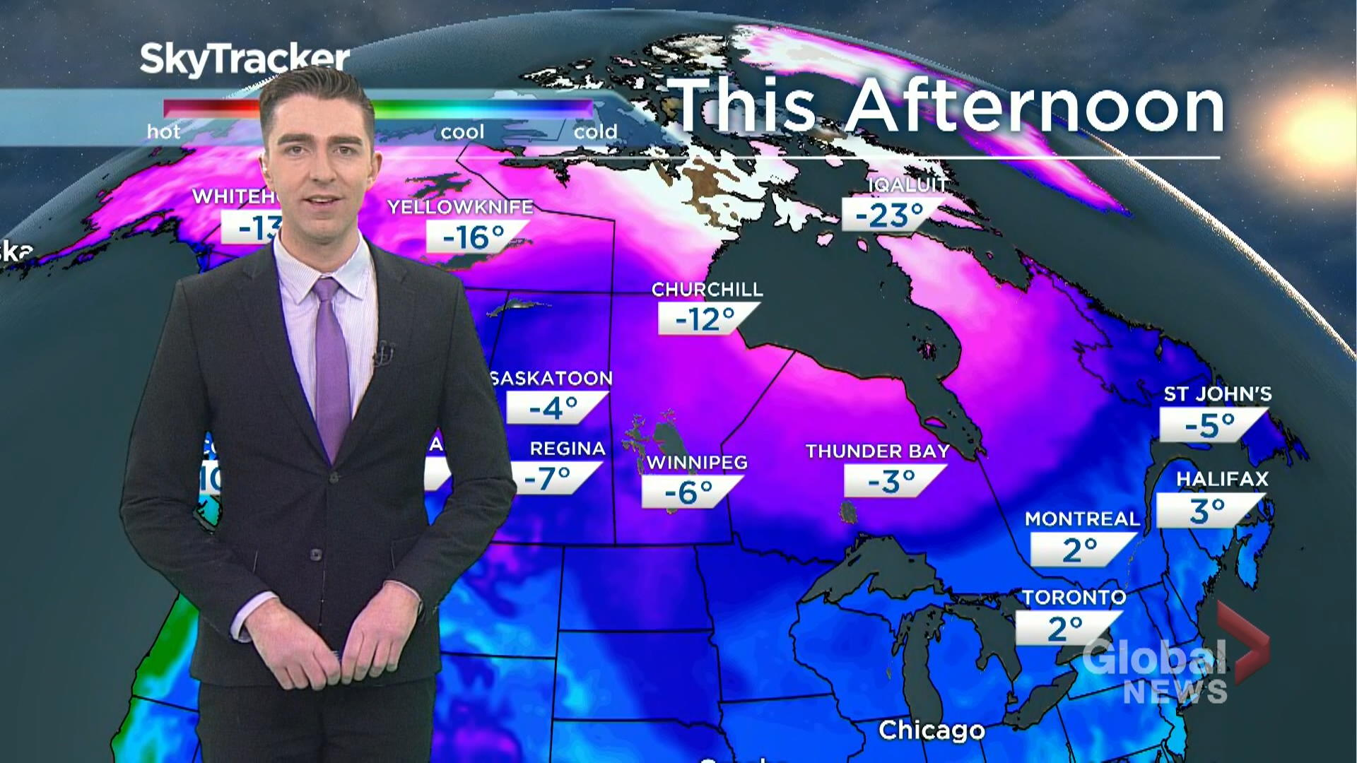 Saskatchewan weather outlook: Jan. 23