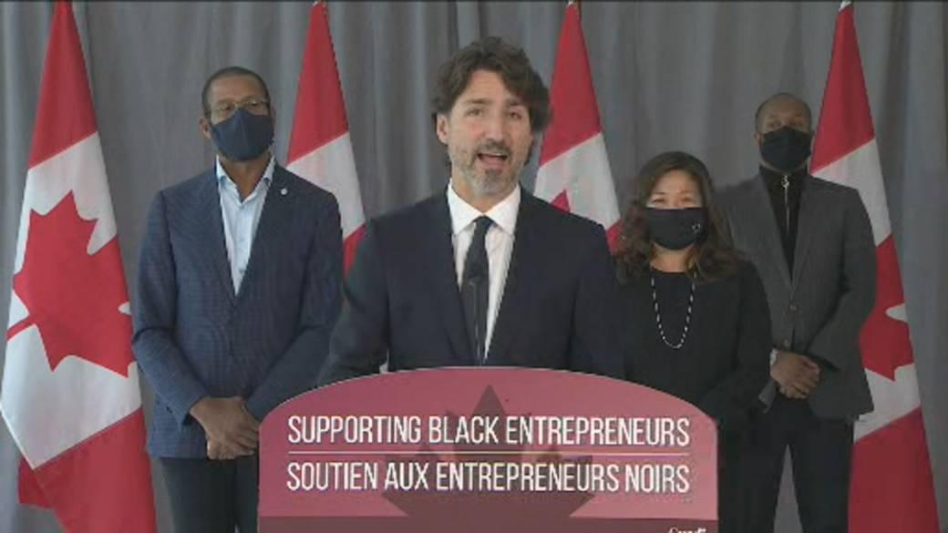 Trudeau announces $221M business loan program for Black entrepreneurs -  National | Globalnews.ca