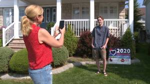 Ajax realtor recognizes 2020 graduates with lawn signs