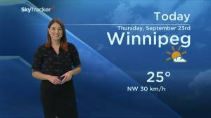 September 23 Weather Update with Kahla Evans (00:52)