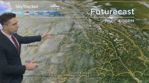 Kelowna Weather Forecast: October 14 (03:28)