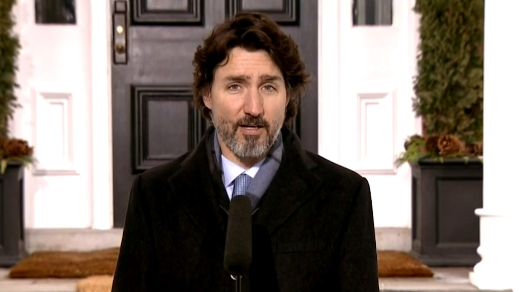 Click to play video: 'Coronavirus: Canada-U.S. border closure extended to Feb. 21, Trudeau says'