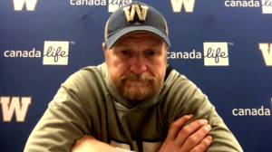 RAW: Blue Bombers Mike O'Shea Interview – Oct. 15 (10:22)