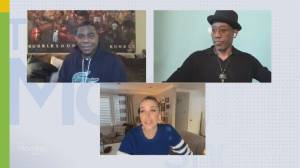 Wesley Snipes and Tracy Morgan talk 'Coming 2 America' (05:11)
