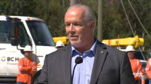 Horgan: Nowhere do Trudeau and I agree more than on climate change