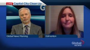 City of Edmonton asks homeowners to help tackle graffiti (04:49)