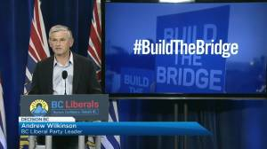 BC Liberals promise to resurrect Massey Bridge plans (02:16)