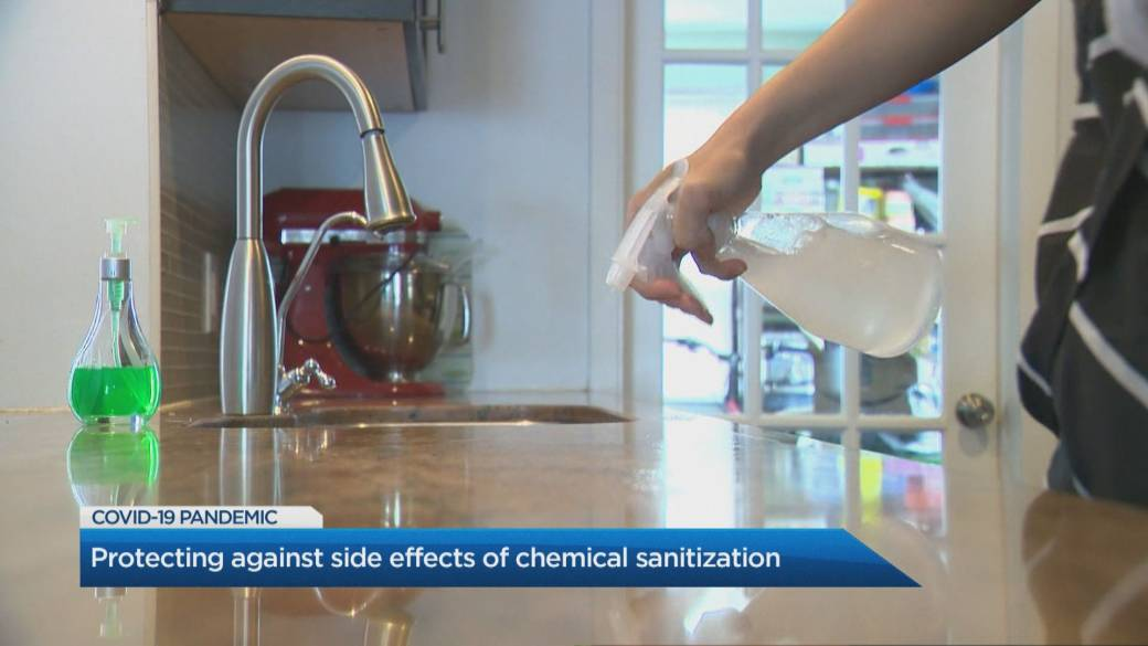 Click to play video 'Look out for these chemicals when buying sanitizing products'