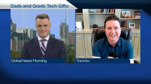 Tech gifts for dads and grads (03:58)