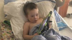Family battles for cancer treatment coverage for 4-year-old son (02:27)