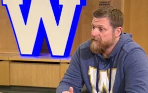 Winnipeg Blue Bombers head coach Mike O'Shea talks about regrets following a Grey Cup win