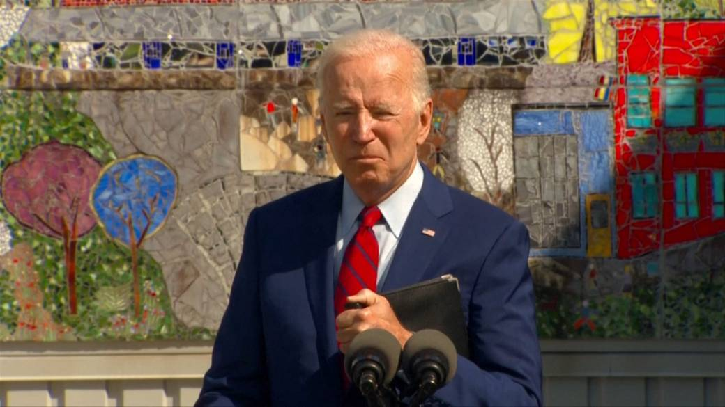 Click to play video: 'Biden 'disappointed' by Republican pushback on his plan to mandate vaccinations'