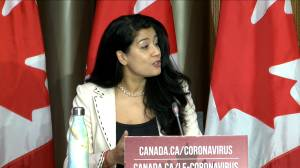 Coronavirus: Canadian officials expect Pfizer vaccine 'likely' to arrive first (01:27)