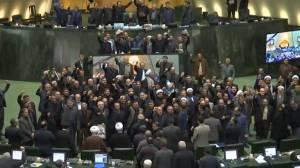 'Death to America': Iran's parliament designates US forces as 'terrorists'