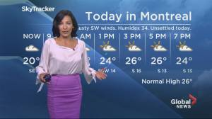 Global News Morning weather forecast: Wednesday August 20, 2019