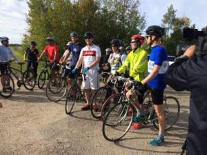 Edmonton Courage Ride for Rehab