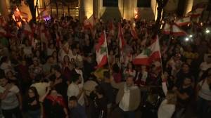 Anti-government protests pour into Lebanon's streets