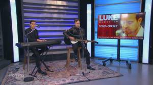 Luke McMaster performs 'Tracks of My Tears'