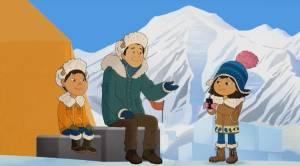 Indigenous student animator obtains valuable internship with animated TV production (01:53)