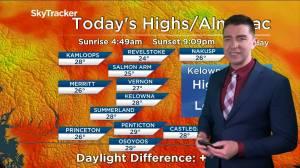 Kelowna Weather Forecast: June 17 (03:53)