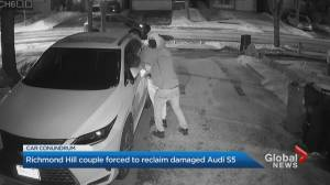 Richmond Hill couple forced to reclaim damaged vehicle (01:53)