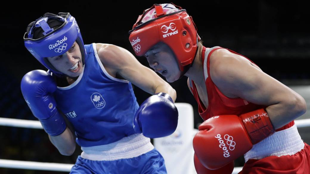 Click to play video: 'Boxing the patriarchy: Canadian athlete's battle for Olympic bid post-pregnancy'
