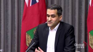Coronavirus: It's 'possible' new COVID-19 variant present in Manitoba, health official says (00:52)