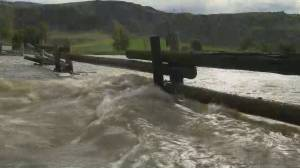 Cache Creek residents hold onto hope as water levels drop