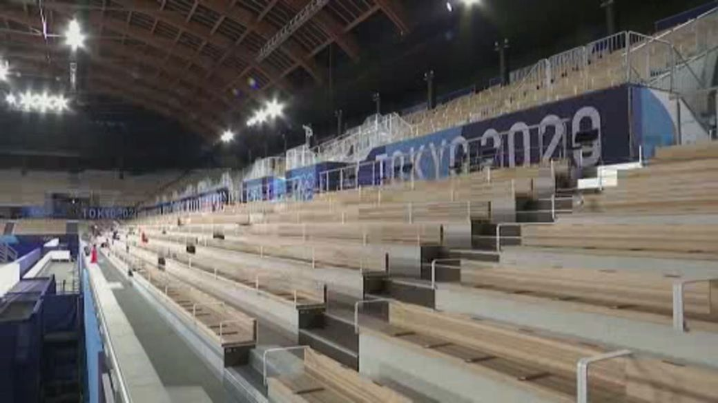 Click to play video: 'Lack of athletic support: Olympians to compete without spectators'