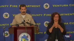 Ventura County sheriff details evacuations due to Maria Fire in southern California
