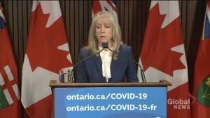 Ontario's long-term care minister addresses damning report, says she takes responsibility (02:00)