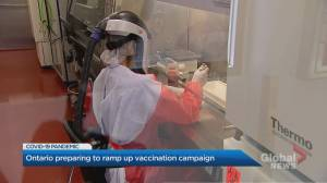 Ontario preparing to ramp up COVID-19 vaccination campaign (02:23)