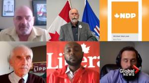Bow River candidates discuss platforms ahead of 2021 federal election (02:40)