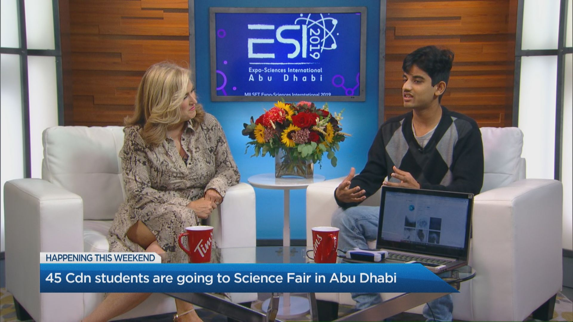 45 Canadian students travel to science fair in Abu Dhabi