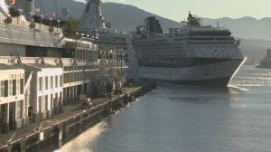 Extension on cruise ship ban another blow to hard hit B.C. tourism industry (01:25)