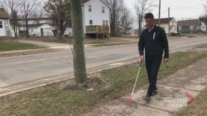People with visual impairments struggle to access essentials amid COVID-19 restrictions