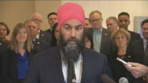 Singh comments on Trudeau 'mocking' Trump at NATO reception, says other things to criticize about