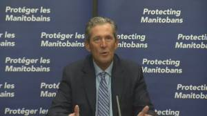 'I respect your right to choose': Manitoba's Brian Pallister says of those who don't get vaccinated (01:44)
