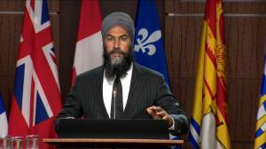 Singh calls for feds not to clawback benefit money for seniors (01:23)