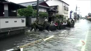 More rescue efforts deploy in Japan amid heavy rains, flooding