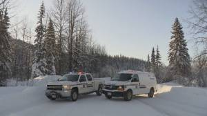 RCMP set up roadblock near disputed northern B.C. Pipeline