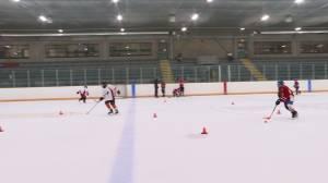 Minor hockey returns to Loyalist Township in Amherstview (02:19)
