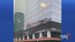 City of Edmonton wraps up investigation looking into window washer's fall