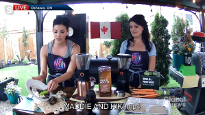 Maddie and Kiki Longo share summer grill recipes and some other camping food ideas (04:07)