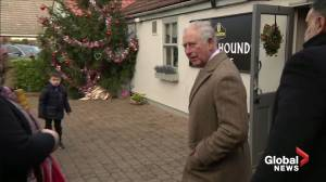 'Things don't work so well' at 98: Prince Charles on his father's health