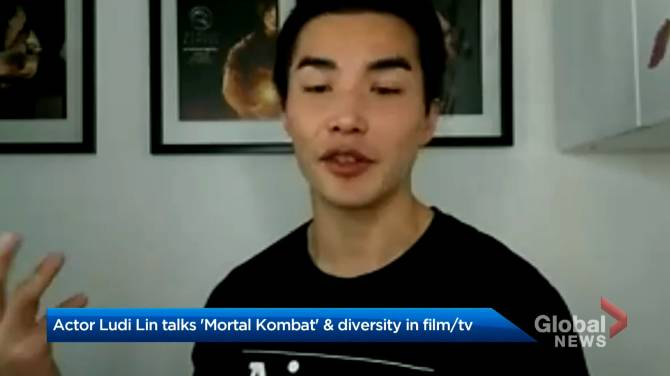 Click to play video: 'Mortal Kombat' star Ludi Lin reflects on role, diversity in Hollywood
