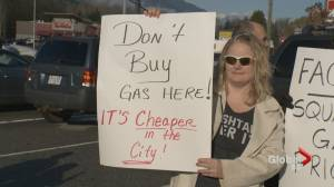 Squamish and Powell River residents say they're being gouged at the gas pump